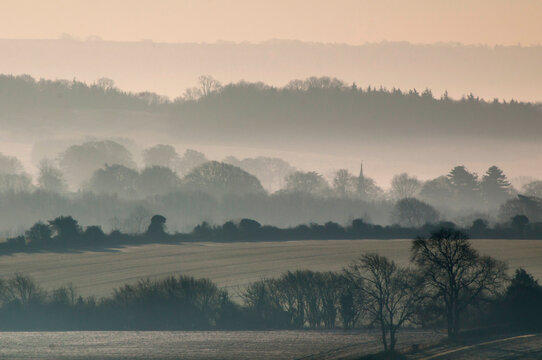 Europe, UK, England, Wiltshire landscape