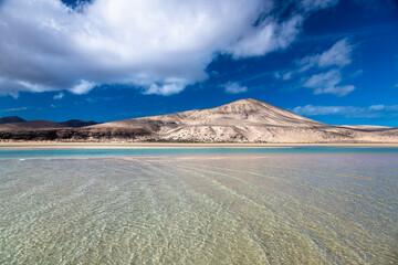 Plaża Sotavento na Fuerteventurze