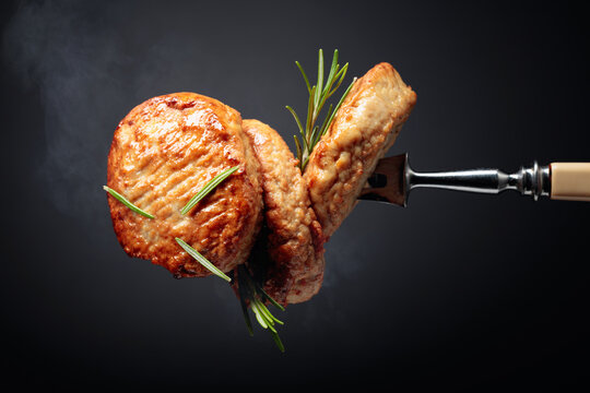 Delicious homemade cutlets.