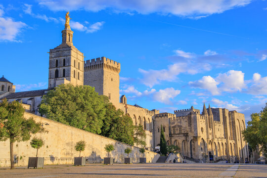Avignon, Palace of the Popes, Vaucluse, France