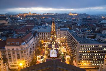 Budapest Christmas market. Fotomurales