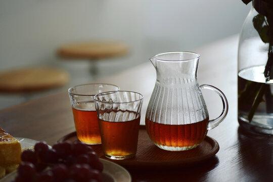Make Japanese black tea at home