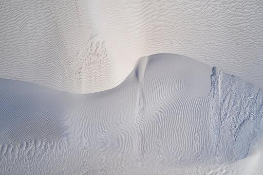 Sand Dune Ridge From Above