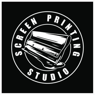 screen printing logo rakel
