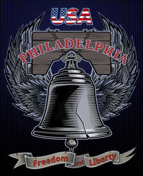 Liberty Bell in Philadelphia, Pennsylvania