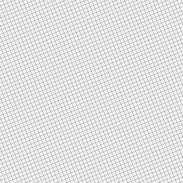 Tilt, skew, diagonal grid, mesh squares abstract geometric vector illustration. Rotated, angled grill, lattice, grating element