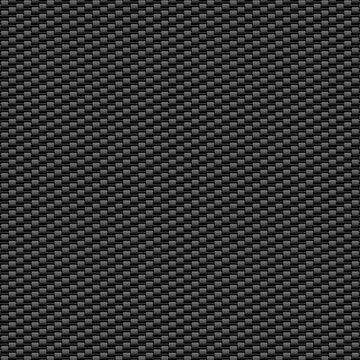 Modern dark carbon fiber grid background.