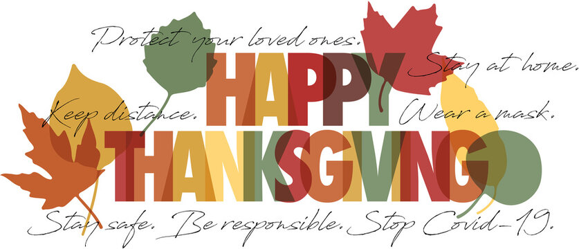 Happy Thanksgiving Stop Covid-19