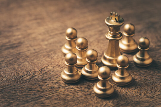 King Chess and Pawns