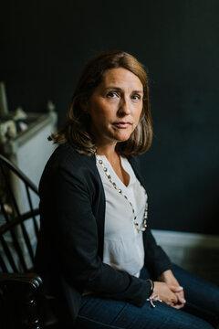 Portrait of mature woman, Sweden