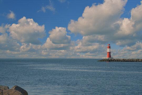 Warnemünde Ostsee Leuchtturm