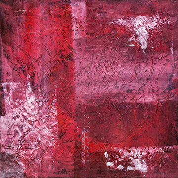 Red expressive abstract background