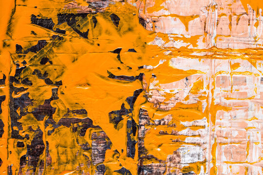 Expressive abstract background