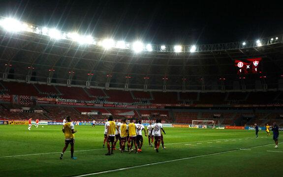 Brasileiro Championship - Internacional v Fluminense