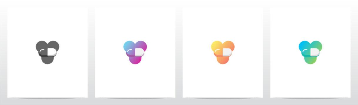 Capsule On Letter Logo Design Y