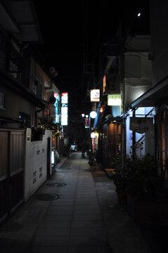 日本の鎌倉の町並み