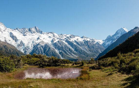 Red Tarns, Aoraki/Mt.Cook National Park, New Zealand