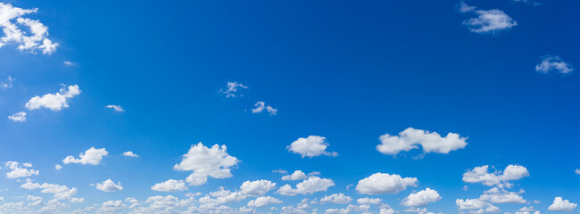 Fototapeta Beautiful blue sky and clouds with daylight natural background.