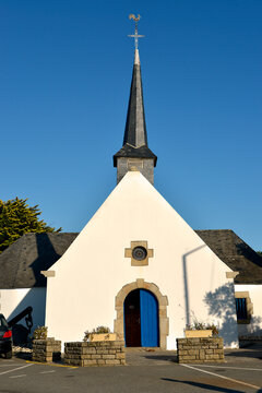 Church of Penerf at Damgan, a commune in the Morbihan department of Brittany in north-western France.