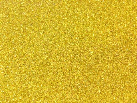 Full Frame Shot Of Yellow Glitter