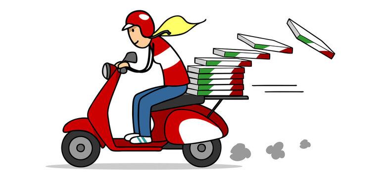 Pizza bestellen beim Pizzeria Lieferdienst