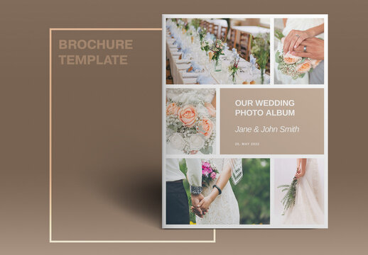 Wedding Studio Brochure Layout
