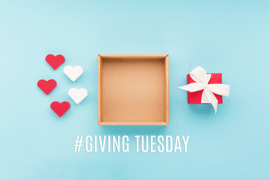 Giving Tuesday philanthropy day after Black Friday shopping
