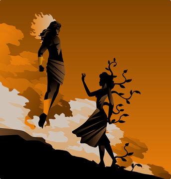 daphne transformation and apollo greek myth