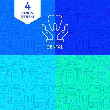 Line Dental Patterns