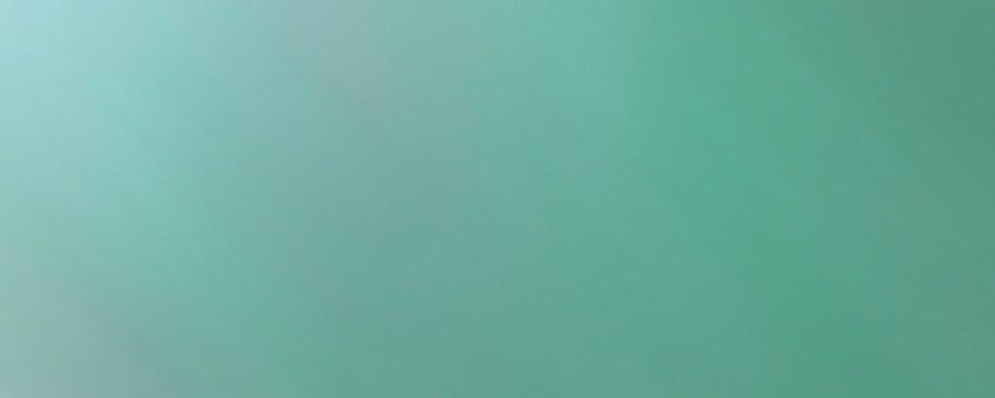 Sfondo verde morbido color pastello. Web banner lungo elegante