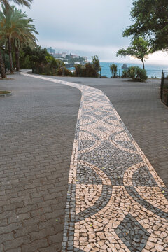 scenic path in Funchal