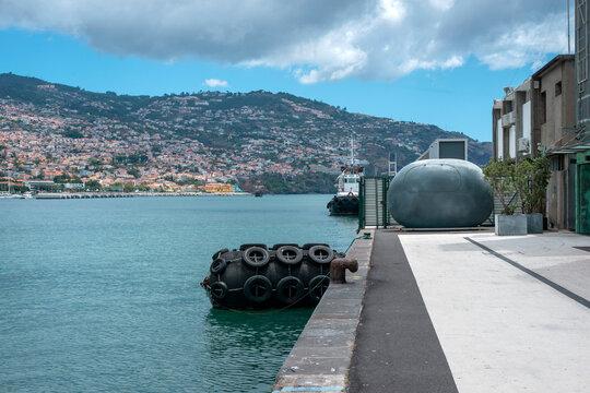 port pier in Funchal