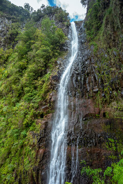 Risco forest waterfall