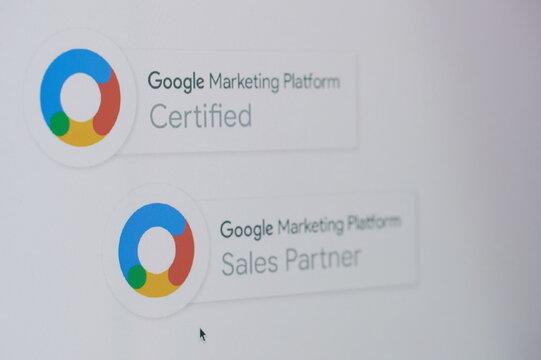 Becoming google marketing partner