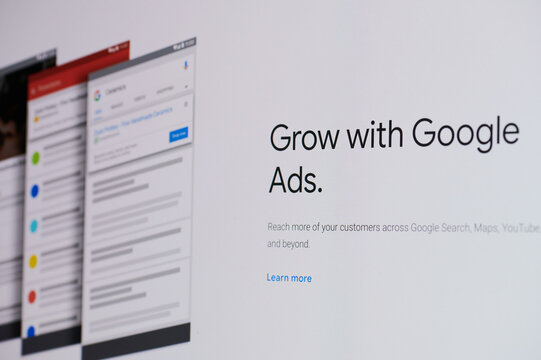 Attaching business to google ads