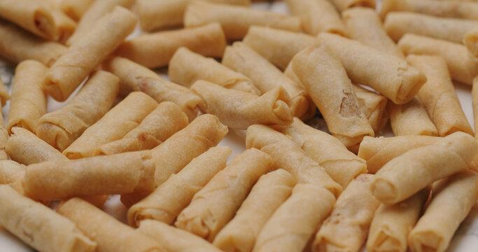 Crispy Shrimp rolls, Hong Kong local snack