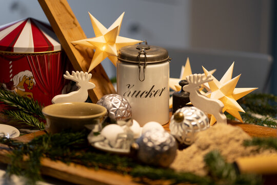 backen im Advent