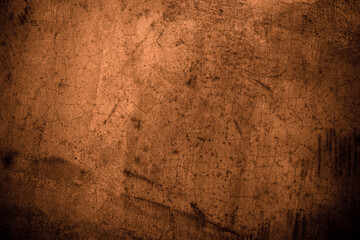 Old wall texture cement black brown background abstract dark color design are light with white...
