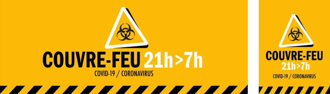 Couvre-feu / 21h - 7h