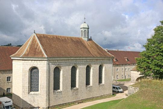 Chapel in Besancon Citadel in France