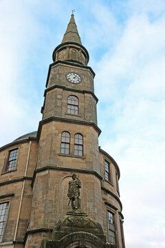 Historic Stirling Althaenium building in Scotland
