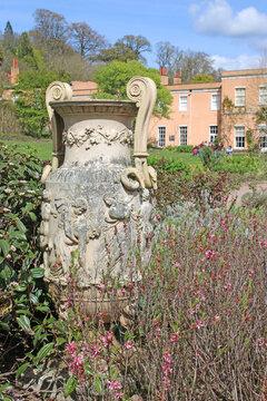 Stone Urn in a garden