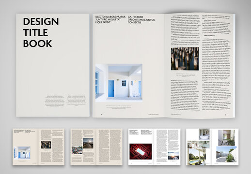 Architecture Projects Brochure