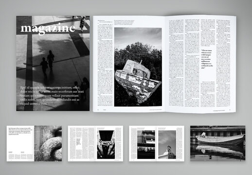 Photographic Magazine with Style