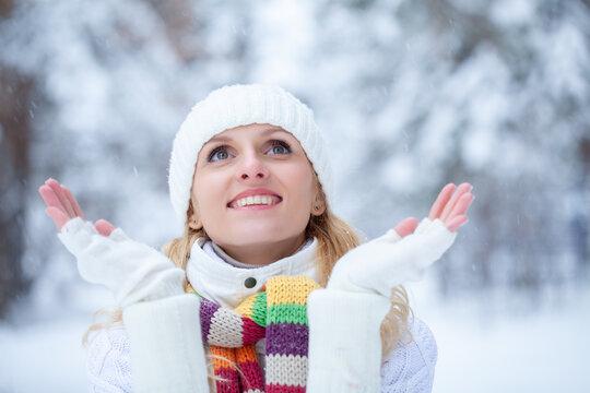 winter potrait woman