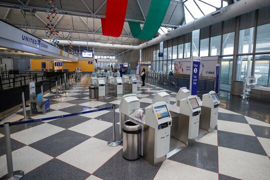 O'Hare International Airport ahead of Thanksgiving holiday in Chicago