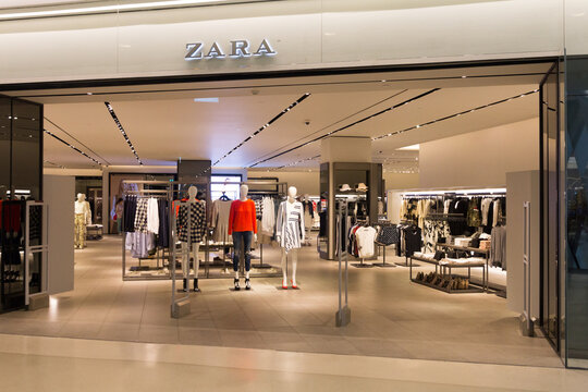 Zara store in the Embassy Mall, Bangkok, Thailand