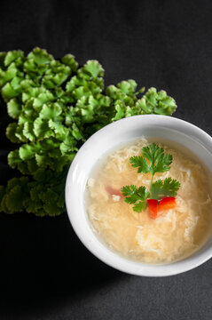 Egg drop soup, Chinese style egg soup