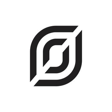 rj letter logo design vector