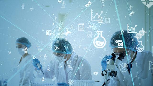 製薬イメージ ワクチン開発